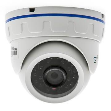 купольная камера видеонаблюдения уличная поворотная